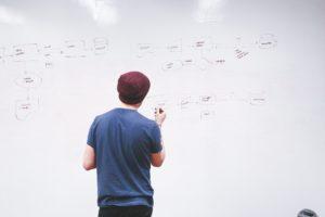 Planification d'un projet sur un tableau